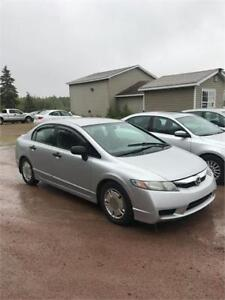 2010 Honda Civic Sdn DX-G FINANCING AVAILABLE