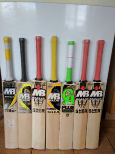 Ready to play / Pre-knocked cricket bats from CA and MB