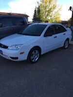 2007 Ford Focus SES With studded winter tires
