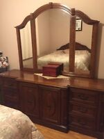 Set de chambre en chene 5mcx/ 5pc oak bedroom set