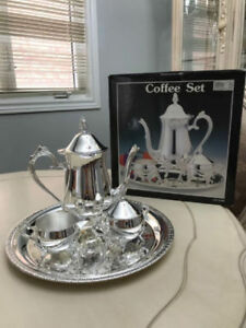 Brand New Silver Plated Tea Set
