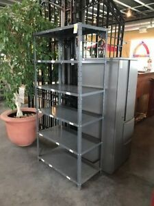 Used Metal Shelving Unit (1) Avialable
