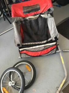 One or two Child Bike trailer/ remorque velo double ou simple