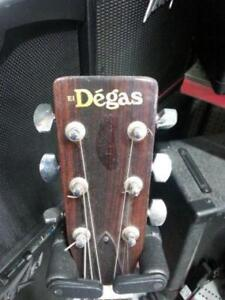 El Degas Acoustic Guitar. We Sell Used Guitars. 105975