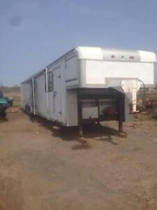 Toy hauler / race car trailer