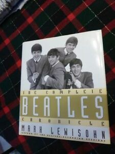 Book - The Complete Beatles Chronicle - by Mark Lewisohn