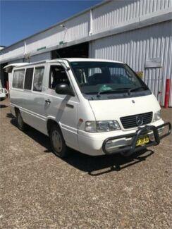 2001 Mercedes-Benz MB100 White Manual Van