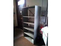 Heavy duty metal shelving units,