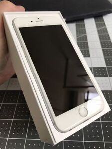 iPhone 6S 64gb silver BELL excellent cond.