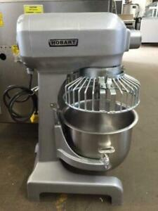 Hobart mixers 20, 30, 60, 80 Quart with bowl and 3 attachments *90 day warranty