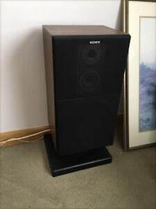 Pair Sony SS-C50 Speakers w/stands