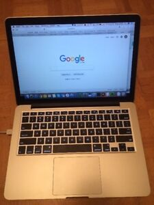 13'' MacBook Pro Retina Late 2013 8GB 256GB SSD