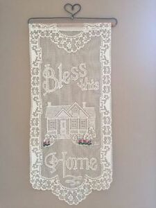 """BLESS THIS HOME"" Wall Hanging"
