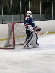 Goalie looking for ice time
