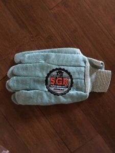 NEW! SGK flannel gloves