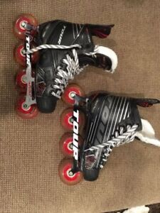 TOUR FB-725 Roller hockey blades MINT condition.