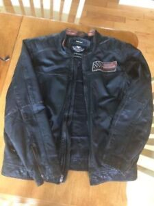 Harley (Distressed Look) Riding jacket