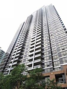 For Rent: One bdrm plus study space, 18th floor-Yonge/Sheppard,