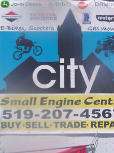 City small engine centre repairs!