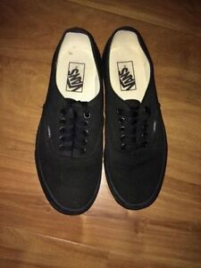 Like New All Black Unisex Shoes