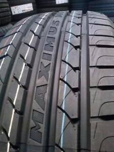 4 pneus d'été neufs, Maximus M1, 215/45ZR17.