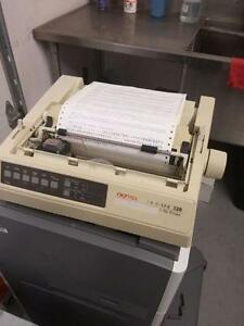 OKIDATA OKI ml320 MICROLINE 320  MATRIX PRINTER Parallel interf