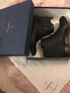 Pour La Victoire Keon Studded Leather Ankle Boots