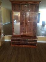 Quality Amish built furniture; Dressers, Benches...