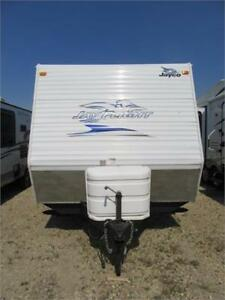 PRE OWNED 2010 JAY FLIGHT 24 RKS TRAVEL TRAILER (TT)
