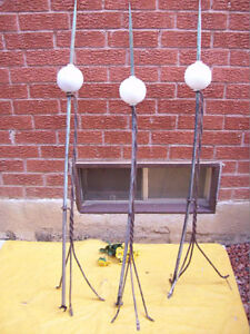 Antique Lightning Rods with Balls+ 5 EXTRA BALLS* SEE EACH PRICE