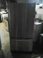 Réfrigérateur Stainless de marque GE $325 Négo