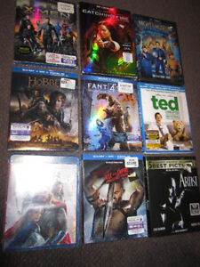 Movie Assortment - NEW, sold on choice - $6.00 ea.