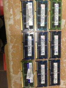 Laptop Parts: DDR2 PC2-6400 DDR 800Mhz 4GB memory for sale