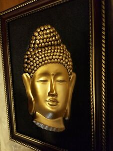 3D WALL BUDHA PICTURES