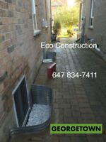 ENLARGE SMALL BASEMENT to CUSTOM SIZE EGRESS FIRE ESCAPE