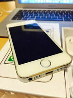 APPLE iPHONE 5S - 16GB FACTORY UNLOCKED! WITH BOX & RECEIPT!