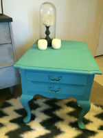 Refinished French Provincial Accent Table/Night Stand!