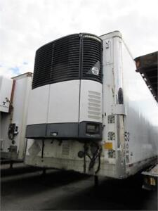 (2) '05 UTILITY 53' TANDEM REEFERS WITH CARRIER ULTRA XTC