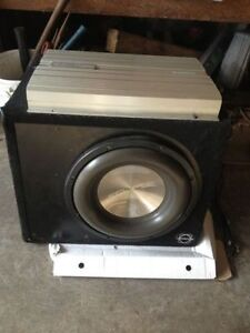 Eclipse Sub and Amp and Rampage Sub
