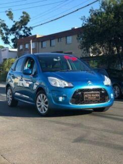 2010 Citroen C3 A5 Exclusive Blue 4 Speed Automatic Hatchback Granville Parramatta Area Preview
