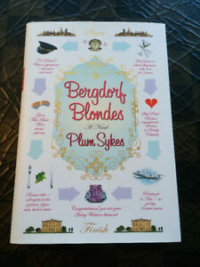 """Bergdorf Blondes"" by Plum Sykes - new / hardcover - only $4"