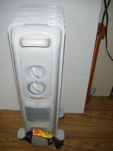 Honeywell oil filled electric heater for sale