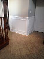 Carpentry Services: Trims, Mouldings, Panels