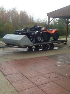 Hyland 4 place trailer