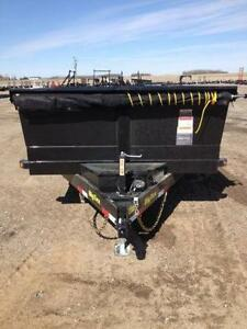 2016 Big Tex Dump Trailers 7x14 - Loaded Regina Regina Area image 4