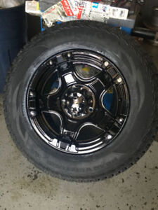 18 inch Fast Rampage Wheels + 275 / 65 R18 Kumho AT Tires