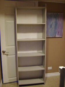 bookcase/storage shelves