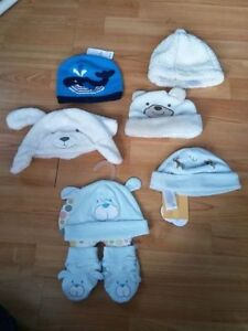 Baby hats new and gently used