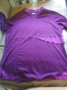 Purple lulu shirt size med