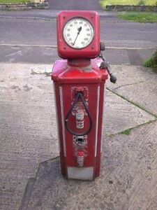 RARE PRESETAIR GAS STATION VEHICLE/BICYLE PUMP METER